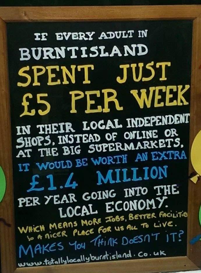 Totally Locally Burntisland